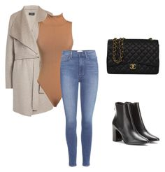 """""""Feuilles d'automne #2"""" by sybellebomb on Polyvore featuring Joseph, Paige Denim, Balenciaga and Chanel"""
