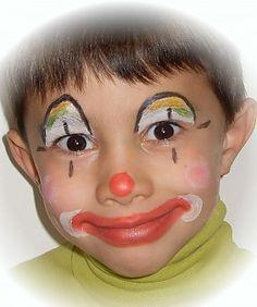 Kid Clown Face