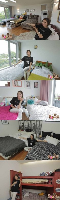 Nana gives a tour of each room in the 'Roommate' house | http://www.allkpop.com/article/2014/06/nana-gives-a-tour-of-each-room-in-the-roommate-house