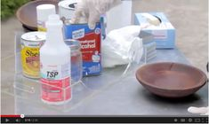 New Video Tutorial: Solvents used to Prepare Vintage Furniture for Decorative Painting.