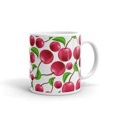Now available in our store. Check it out here http://j-s-graphics.myshopify.com/products/cherries-cherries-and-more-cherries-coffee-mug?utm_campaign=social_autopilot&utm_source=pin&utm_medium=pin