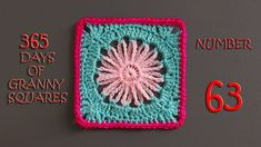 Written Pattern: http://crochetime.net/2014/08/14/delicate-daisy-square-pattern/ Hashtag #YARNutopia and #365DaysofGrannySquares in your photos!! View all Gr...