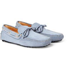 PRODUCT - Car Shoe - Suede Driving Shoes - 377563 MR PORTER