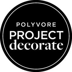 Polyvore Project Decorate Logo ❤ liked on Polyvore featuring text, words, home, backgrounds, quotes, phrase and saying