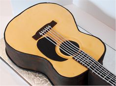 Cup a Dee Cakes Blog: Acoustic Guitar Groom's Cake