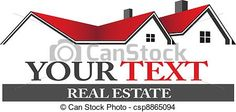 EPS Vector of Real estate logo - Group of houses in erd and black - Search Clip Art, Illustration, Drawings and Clipart Vector Graphics Images Real Estate Ads, Real Estate Houses, Real Estate Marketing, Architecture Blueprints, Architecture Graphics, People Logo, Marketing Logo, Roofing Felt, House Illustration
