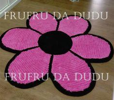 Tapete Frufru de Flor