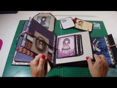 Mini Scrapbook Albums, Mini Albums, Indian Costumes, Paper Book, Scrapbooks, Origami, Paper Crafts, Songs, Make It Yourself