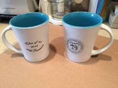 """""""I have been using both the sample you sent and """"my"""" mug for the reunion since receiving them and love them ... hoping I have a couple of extra so I can keep more than one!"""""""