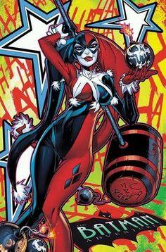 Harley Quinn. Harley Quinn Comic, Joker And Harley Quinn, Injustice 2, Female Villains, Comic Book Girl, Arte Dc Comics, Gotham Girls, Arkham City, Arkham Asylum