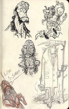 Sketchbook5 by buonaseraukulele.deviantart.com on @DeviantArt