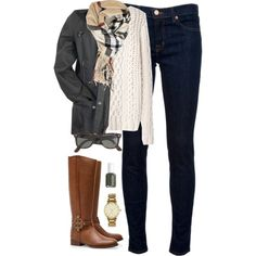"""""""back to school in the freezing cold!"""" by classically-preppy on Polyvore"""