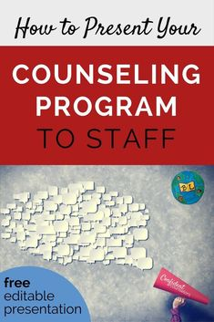 Present your counseling program and role to staff at the beginning of the year. Free editable powerpoint and meet the counselor templates. School Guidance Counselor, School Counseling Office, Elementary School Counselor, School Social Work, School Counselor Organization, Education College, School Office, Counseling Degree, Primary Education