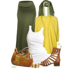 Stylish Trio - Maxi Skirt