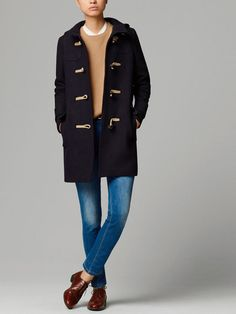 DUFFLE-COAT WITH TOGGLES