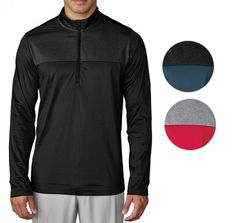 2b4c4987 Adidas Climawarm Novelty 1/4 Zip Layering Golf Pullover Mens New - Choose  Color!