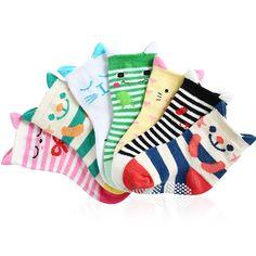 Baby Cat Socks