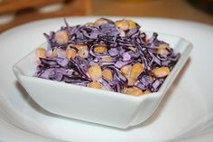 salat z cervenej kapusty