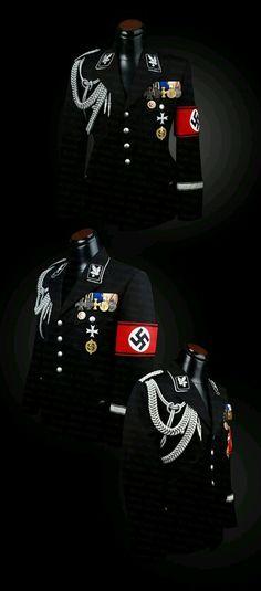 Nazi ss subay üniforması German Soldiers Ww2, German Army, Ww2 History, Military History, German Uniforms, Military Uniforms, Nazi Propaganda, Germany Ww2, History