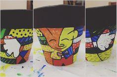 The Hug (O Abraço) ❤️️ #coraçao  #vasodebarro #borboleta #flor #casal #peixes #arte #artesanato #vasodeplanta  #pintura #flor #coraçao #vasospersonalizados #vasoscarinhas #romerobritto #desenho #desenho #desenhocolorido #TheHug #abraço #acrilex
