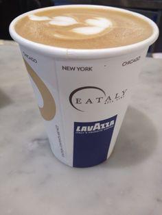 Verdadero capuccino en Eataly NYC