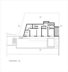 Casa B,Planta Pavimento -740