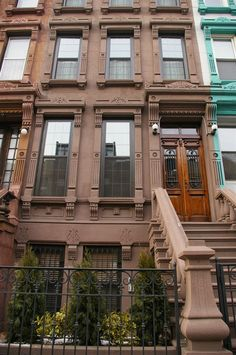 This is the facade of the Margot Guest House, our New York City bed and breakfast accommodation