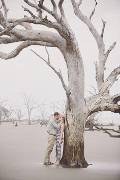 Coastal Wedding Engagement by Billie Jo and Jeremy