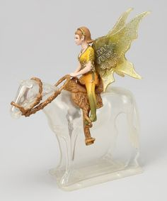 Take a look at this Tinuveel Riding Elf Figurine Set by Schleich on #zulily today!