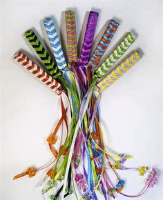 ribbon barrets 1980's - I forgot all about these, and featherweight clips in your hair too...