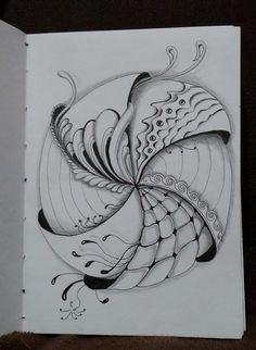 Арт Блог номер: Zentangle путем Верна ...