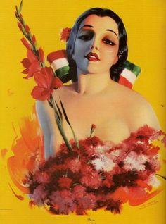 Linda Mexicana Armando Drechsler 1938