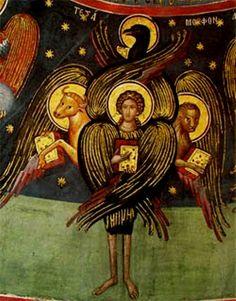 Tetramorph-Meteoraklooster-Een-cherub-volgens-de-Traditionele-Christelijke-iconografie.jpg (443×566)