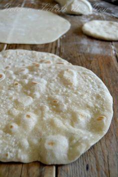 piadine, ricetta base | Dolce e Salato di Miky