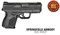 #6: The Springfield XDS™ 45 offers all of the quality and safety features you expect from the XD® line. This powerful pistol includes the Ultra Safety Assurance (USA) Action Trigger System™, loaded chamber indicator and grip safety. In addition, the XDS™ 45 offers a top-of-the-line, enhanced secure grip texture for greater control and usability.  Coming in at number 6 of 2013's best sellers, get yours @Sportsman's Outdoor Superstore.