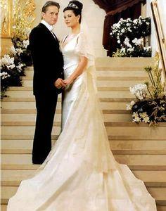 Single wedding purchases that broke the bank - Catherine Zeta Jones' wedding dress | CHWV