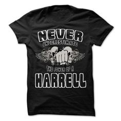 Never Underestimate The Power Of ... HARRELL - 99 Cool  - #sweatshirt for women #winter sweater. HURRY:   => https://www.sunfrog.com/LifeStyle/Never-Underestimate-The-Power-Of-HARRELL--99-Cool-Name-Shirt--68640239-Guys.html?id=60505