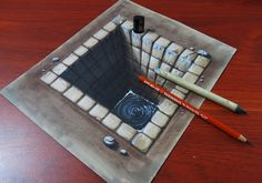 3d drawing pyramyd - Google Search