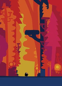 Example of Chris Haughton children's illustration style. Note the bright yet highly limited palette. Also note the simplicity of forms as a really strong graphical element. (viewed 14/8)