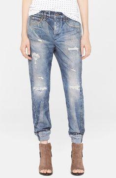 rag & bone/JEAN 'Pajama Jean' Print Sweatpants (Rainier) | Nordstrom LEGITIMATELY NEED THESE.