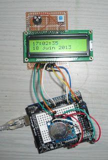 Électronique en amateur: Une horloge pour votre Arduino (Real Time Clock)