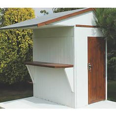 Shire Bar Garden Store 6 x 4 x 8 5 Summerhouses # Backyard Shed Bar Ideas, Outdoor Garden Bar, Garden Bar Shed, Pool Shed, Diy Outdoor Bar, Summer House Garden, Backyard Patio, Outdoor Living, Home And Garden