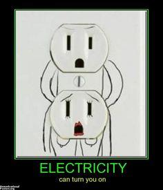 demotivational poster ELECTRICITY