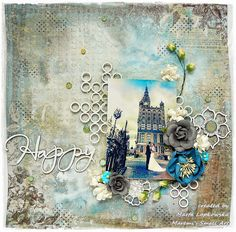 Blue Fern Studios: 'Happy' by Marta Lapkowska + VIDEO tutorial