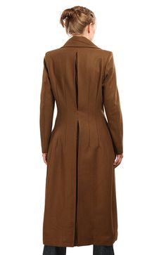 ThinkGeek :: Doctor Who Ladies' 10th Doctor's Coat