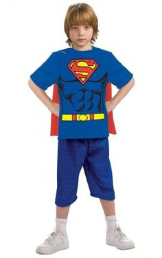 Kit disfraz Superman para niño