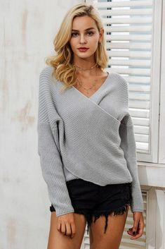 Sweaters Glorious Sweet Sweater Women Halter Sweaters Pullover Female Spring Knitted Pullovers Slim Flare Sleeve Sweaters