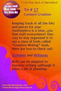 Tools for keeping track of all those content projects, read about the options