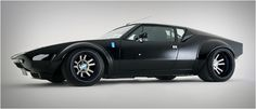 DeTomaso Pantera...this car definitely has some angles... #Pantera