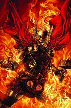 Thor (Thor Odinson) | art by Mico Suayan